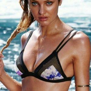 Victorias Secret Floral Bikini Top